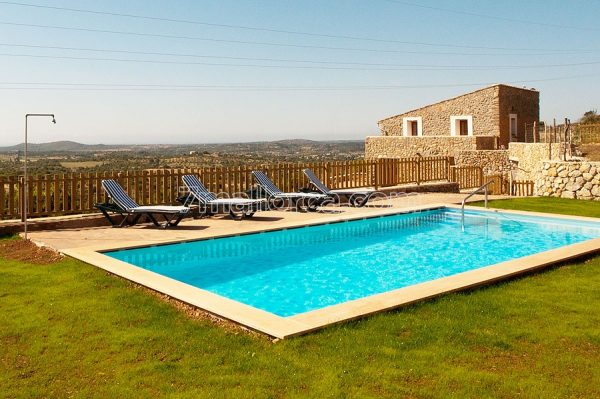 wonderful holiday villa in mallorca. with pool and seaview. perfect for family holiday