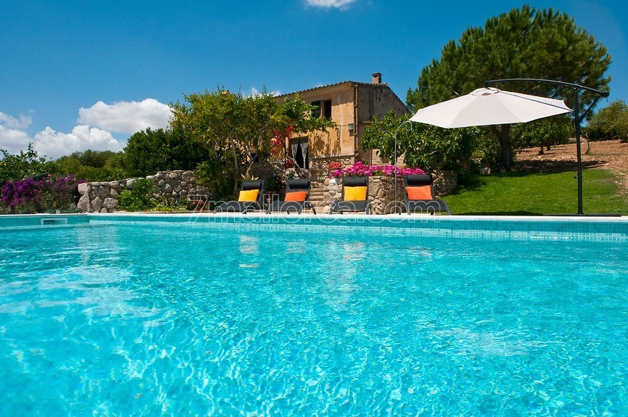 Mediterranean Country Side House With Pool Garden And Lovely Interior