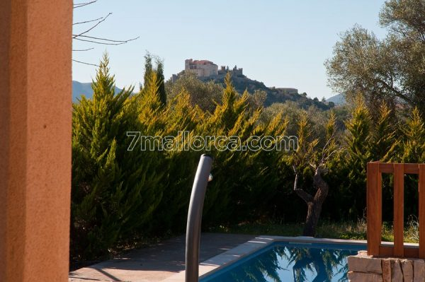 view villa pool majorca