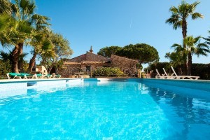Justa:  Holiday villa with big pool, garden and bbq in Portocolom