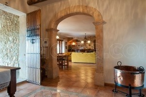 Fina:  Natural stone house with large pool, barbecue and nice views