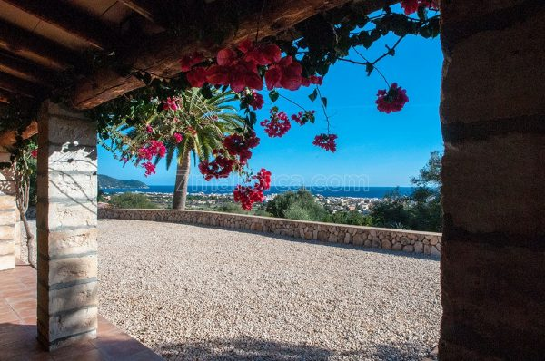 holiday house mallorca, pool seaview