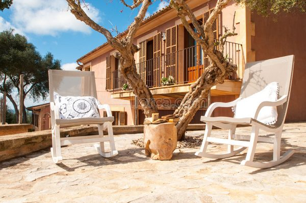 house rural pool bbq view majorca rent